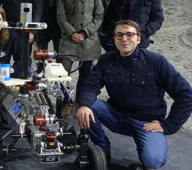 THORO – Teilautonome hochmobile Roboter<br /><span class='year'>2019 – 2020, Bremen</span><br  /><small>Deutsches Forschungszentrum für Künstliche Intelligenz (DFKI)</small><br /><span class='addon'>Masterprojekt: Teilnahme an der European Rover Challenge in Polen</span>
