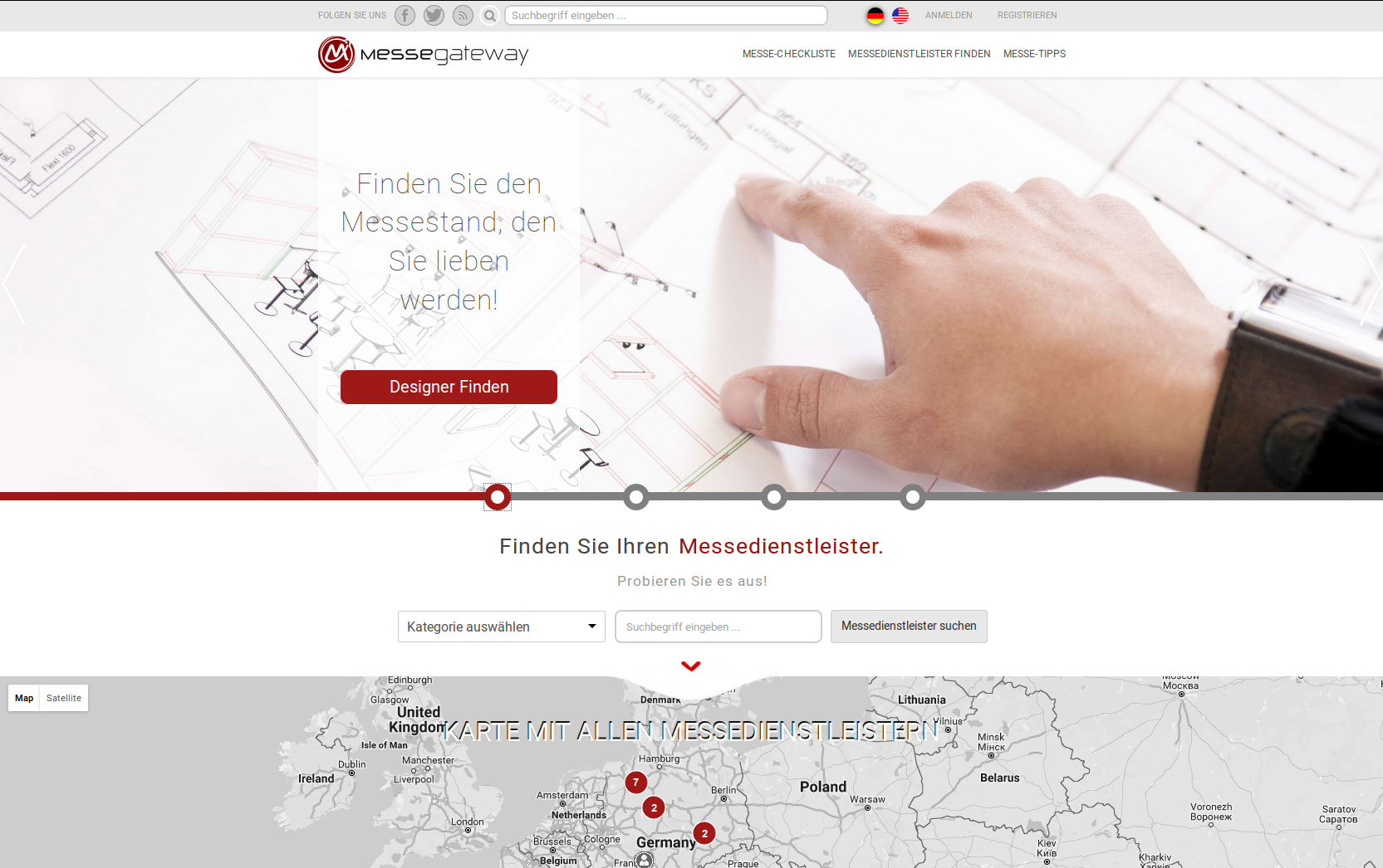 Mitgründer | Gesellschafter | Geschäftsführer<br /><span class='year'>2015 – 2016, Hamburg</span><br  /><small>messegateway UG (haftungsbeschränkt)</small>